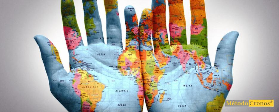 ranking manos con mapa mundi