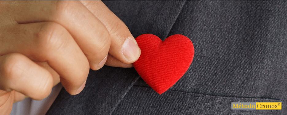 ranking- mano con corazón rojo