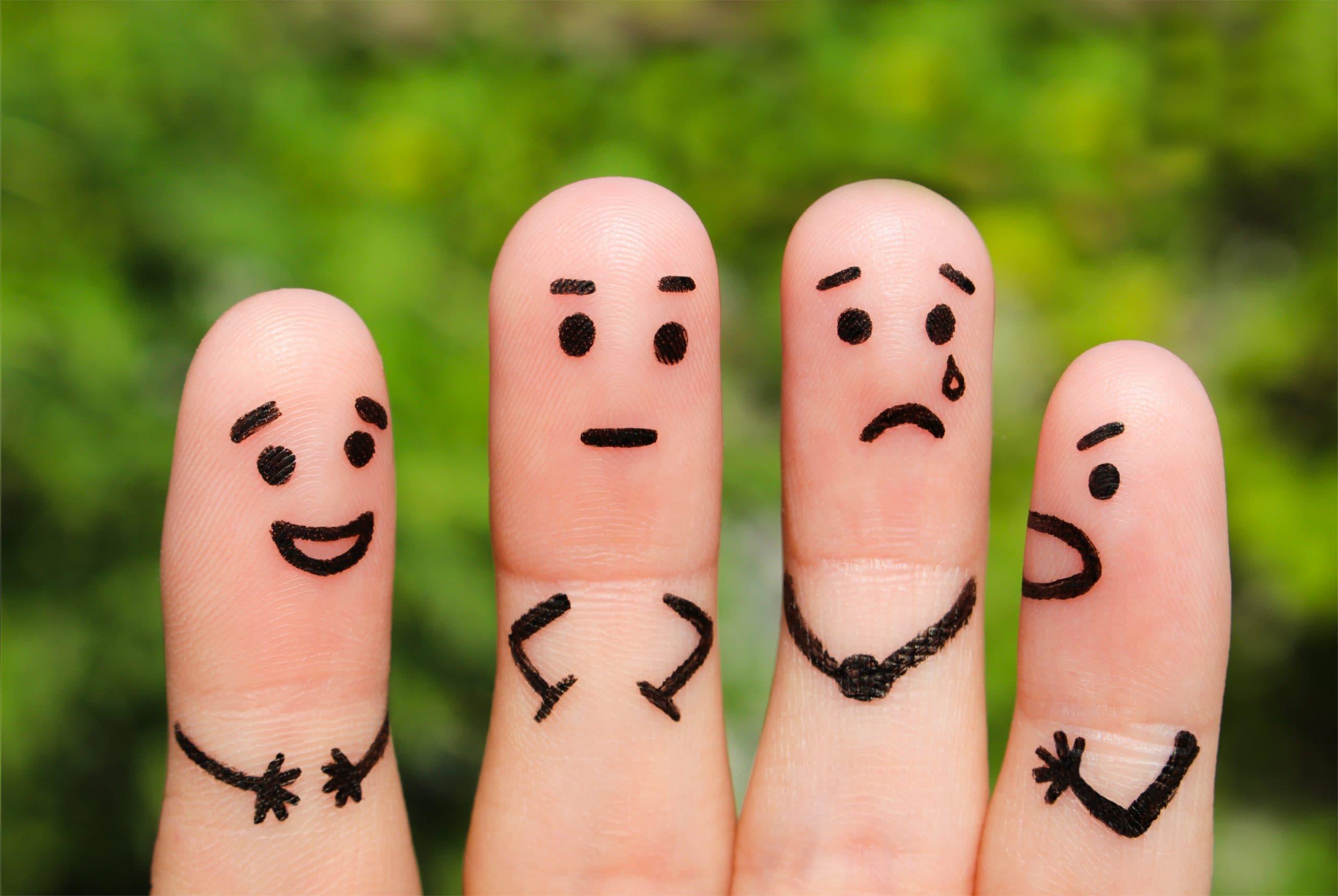 dedos y emociones